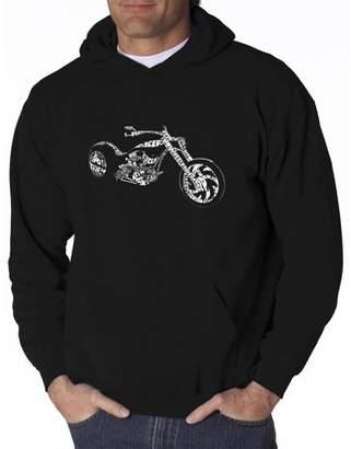 Pop Culture Men's hooded sweatshirt - motorcycle