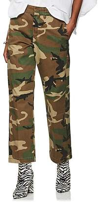 R 13 Women's Slouch Camouflage Cotton Pants