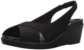 Crocs Women's Leigh Ann Slingback Wedge Sandal