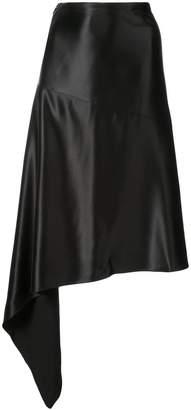 Petar Petrov asymmetric midi skirt