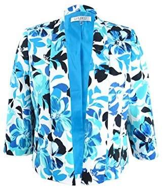 Kasper Women's Floral Printed Kellie Jacket