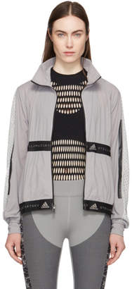 adidas by Stella McCartney Grey Run Light Jacket