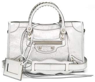 Balenciaga Classic City S Bag - Womens - Silver