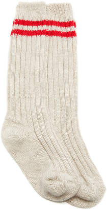 The Elder Statesman M'O Exclusive Yosemite Ribbed Tube Socks