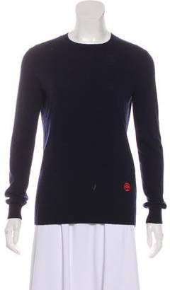 Tory Burch Long Sleeve Cashmere Sweater
