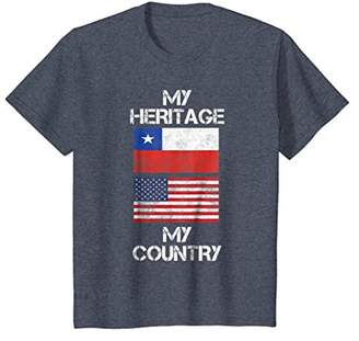 My Heritage My Country Chilean American Chile T-Shirt