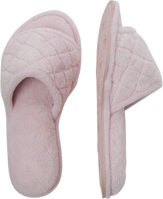 Dearfoams Quilted Slide Slippers