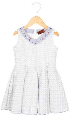 Missoni Girls' Jewel-Embellished A-Line Dress w/ Tags