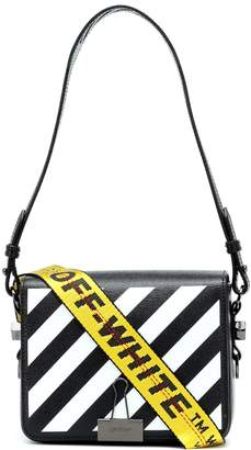 Off-White Off White Binder Clip leather shoulder bag