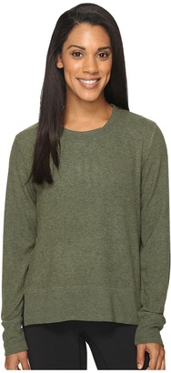 ALO Glimpse Long Sleeve Top $68 thestylecure.com