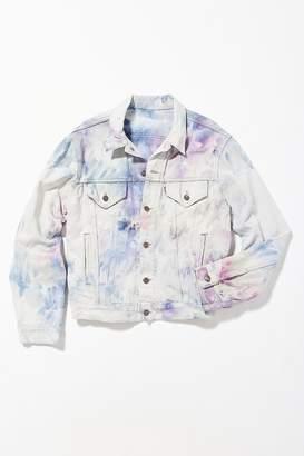 Urban Renewal Vintage Riverside Tool & Dye Hand-Dyed Levi's Denim Trucker Jacket
