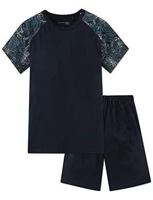 Schiesser Boy's Anzug Kurz Pyjama Set