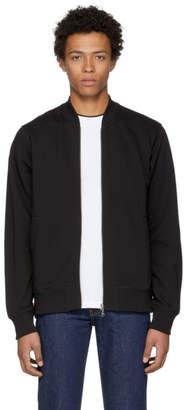 Kenzo Black Tiger Teddy Bomber Jacket