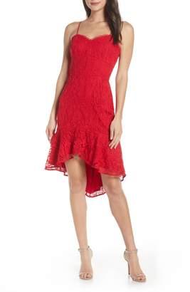 Harlyn Sleeveless Lace High/Low Dress