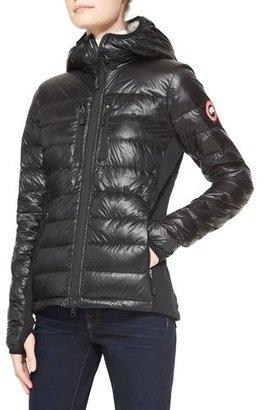 Canada Goose Hybridge® Lite Hooded Coat $575 thestylecure.com