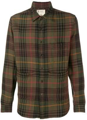 Aspesi pocket plaid shirt
