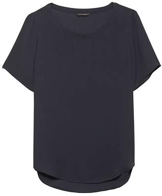 Banana Republic Petite High-Low Hem Top