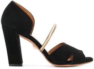 Chie Mihara peep toe block heel sandals