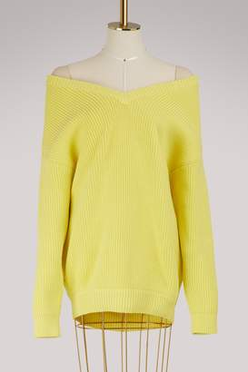 Balenciaga Naked shoulders sweater