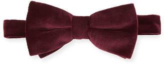 Eton Velvet Pre-Tied Bow Tie