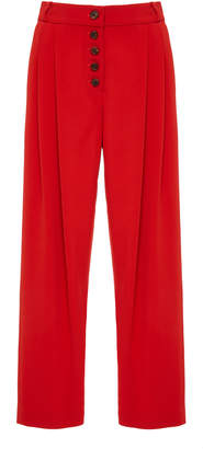 A.L.C. Russel High-Rise Pleated Tapered Pant