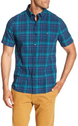 Michael Bastian Plaid Short Sleeve Shirt