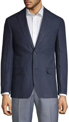 Michael Kors Regular-Fit Linen Suit Jacket