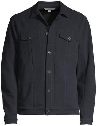 John Varvatos Knit Trucker Jacket