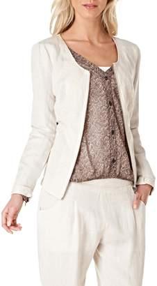 Yest Zip Linen Jacket