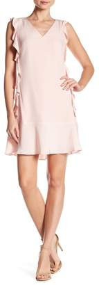 Cynthia Steffe CeCe by Harper Sleeveless Ruffle Detail Dress
