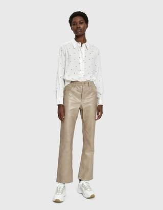 Margaret Howell Low Collar Pull-On Shirt