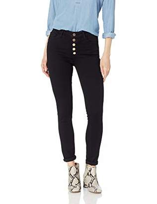 Paige Women's Hoxton Ultra Skinny w/Exposed Button Fly