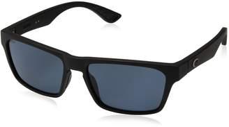 Costa del Mar Unisex-Adult Hinano Polarized Wayfarer Sunglasses, /Gray