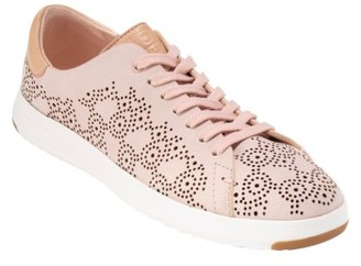 Women's Cole Haan Grandpro Perforated Sneaker $150 thestylecure.com