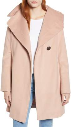Sam Edelman Shawl Collar Hooded Coat