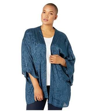 Junarose Plus Size Saliraz 3/4 Sleeve Kimono