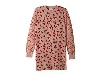 Stella McCartney Rita Ladybug Long Sleeve Sweater Dress (Toddler/Little Kids/Big Kids)