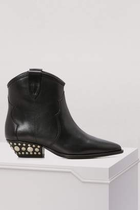 Isabel Marant Leather Dawyna boots