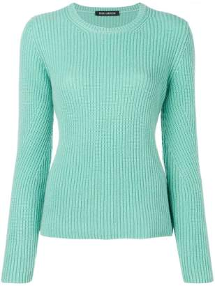 Iris von Arnim ribbed jersey top