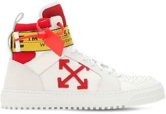 Off-White Off White Industrial Leather High Top Sneakers