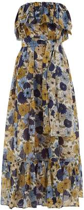 Lisa Marie Fernandez Sabine floral-print cotton dress