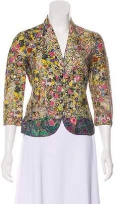 Philosophy di Alberta Ferretti Floral Lightweight Jacket