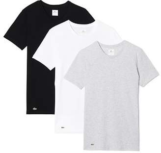 Lacoste Supima® Cotton Crewneck Tees - Pack of 3