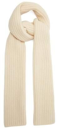 Joseph Chunky Knit Wool Scarf - Womens - Ivory