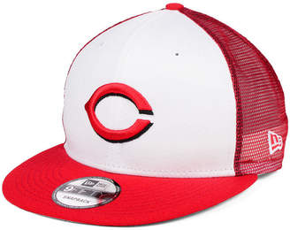 New Era Cincinnati Reds Old School Mesh 9FIFTY Snapback Cap