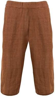 Barena drop crotch shorts