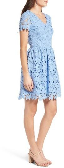 Women's Dee Elly Lace Skater Dress 2