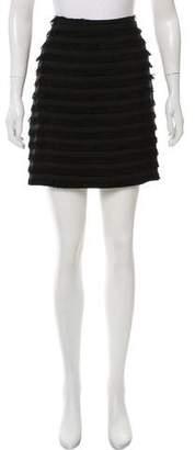 Michael Kors Fringe-Trimmed Mini Skirt w/ Tags