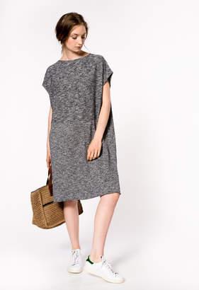 Bellerose Combo Marl Grey Dress - 8 UK - Grey