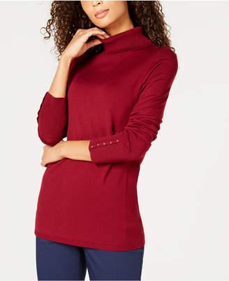 JM Collection Petite Turtleneck Sweater